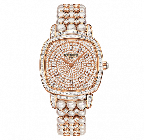 Brand New 100% Genuine PATEK PHILIPPE Gondolo Rose Gold Diamonds 7042/100R-010 Watch