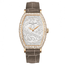 Load image into Gallery viewer, Patek Philippe Gondolo 7099 Rose Gold Silver 7099R-001 watch