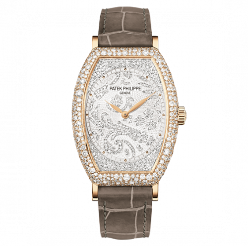 Patek Philippe Gondolo 7099 Rose Gold Silver 7099R-001 watch