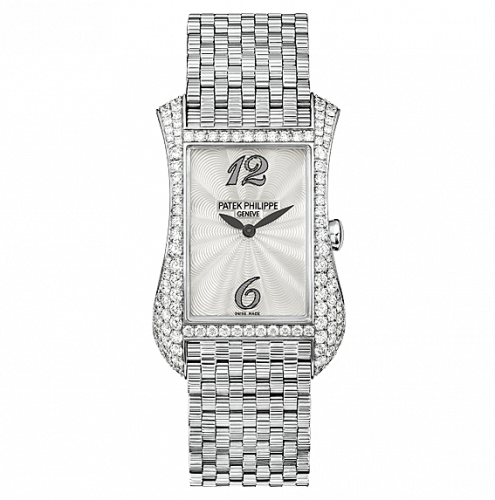 Patek Philippe Gondolo Serata 4972 White Gold Mother of Pearl Bracelet watch