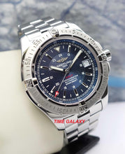 Load image into Gallery viewer, Buy Pre-Owned Breitling Colt Automatic Steel Blue Bracelet at Time Galaxy Online Store