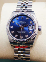 Load image into Gallery viewer, Rolex Datejust 31 Jubilee Blue Diamonds 178274-0048