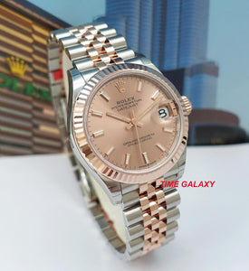 Rolex 278271-0010 made of Rose gold, stainless steel and sapphire glass