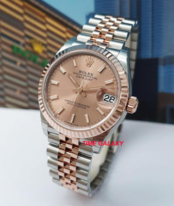 Buy Sell Rolex Datejust 31 Rolesor Everose Gold 278271 at Time Galaxy
