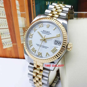 Second hand Rolex Datejust 31 Rolesor 178273 Watch at Time Galaxy