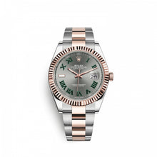Load image into Gallery viewer, Buy Sell Rolex Datejust 41 Rolesor Everose Fluted Oyster at Time Galaxy Watch