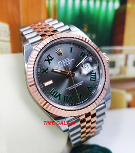 Rolex 126331-0016 equipped with caliber 3235, Jubilee bracelet