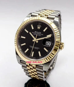 Buy Sell Rolex Datejust 41 Rolesor Yellow Jubilee 126333 at Time Galaxy