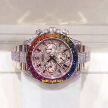 Load image into Gallery viewer, Buy Sell Trade Rolex Daytona Rainbow Pave Diamond 116595RBOW at Time Galaxy Malaysia