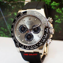 Load image into Gallery viewer, Rolex Cosmograph Daytona White Gold Cerachrom Black Oysterflex 116519ln-0027 Watch