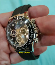 Load image into Gallery viewer, Rolex 116519ln-0022 equipped with calibre 4130, black dial with diamond indexes