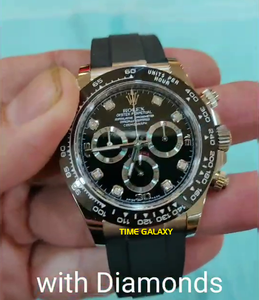 Buy Sell Trade Rolex Daytona White Gold Diamond 116519LN at Time Galaxy