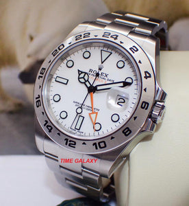 Rolex 216570-0001 powered by 3187 calibre, 48 hours power reserve