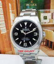 Load image into Gallery viewer, Rolex Explorer 39 Oystersteel Black 214270