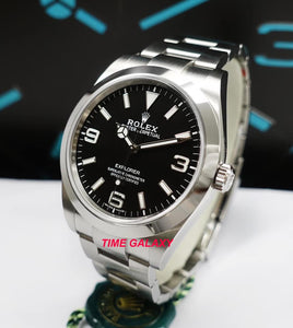 Rolex Explorer 214270 available at Time Galaxy Store
