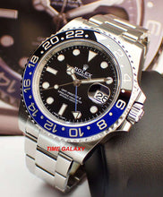 Load image into Gallery viewer, Buy affordable Pre-owned Rolex sport model Batman 116710BLNR at Time Galaxy Watch Malaysia