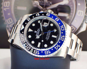 Pre-used Rolex sport model 116710blnr-0002 Batman excellent condition