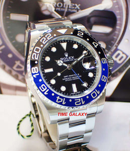 Rolex 116710blnr-0002 powered by 3186 calibre, date display