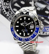 Load image into Gallery viewer, Rolex GMT-Master II Oystersteel Jubilee Batman 126710BLNR-0002