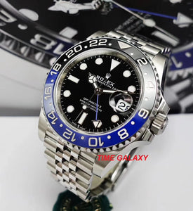 Buy Sell Rolex GMT-Master II 126710BLNR Batman Jubilee at Time Galaxy