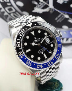 Rolex 126710blnr-0002 made of Oystersteel, black dial, blue and black Cerachrom bezel