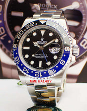 Load image into Gallery viewer, Rolex GMT-Master II Oystersteel BLNR Batman 116710blnr-0002