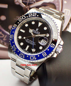 Buy Sell Rolex GMT-Master II 116710BLNR Batman at Time Galaxy Watch