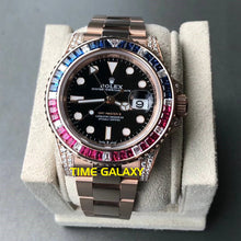 Load image into Gallery viewer, Buy Sell Rolex GMT-Master II Rose Gold Diamond 126755SARU at Time Galaxy Malaysia