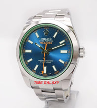 Load image into Gallery viewer, Rolex Milgauss GV Oystersteel Z-Blue 116400GV-0002 Watch