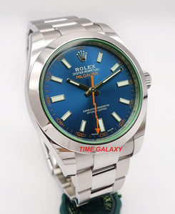 Rolex 116400GV-0002 powered by 3131 caliber, 3130 base