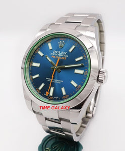 Buy Sell Rolex Milgauss GV Z-Blue 116400 at Time Galaxy
