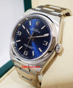 Buy Sell Trade Rolex Blue Explorer 116000 at Time Galaxy Store