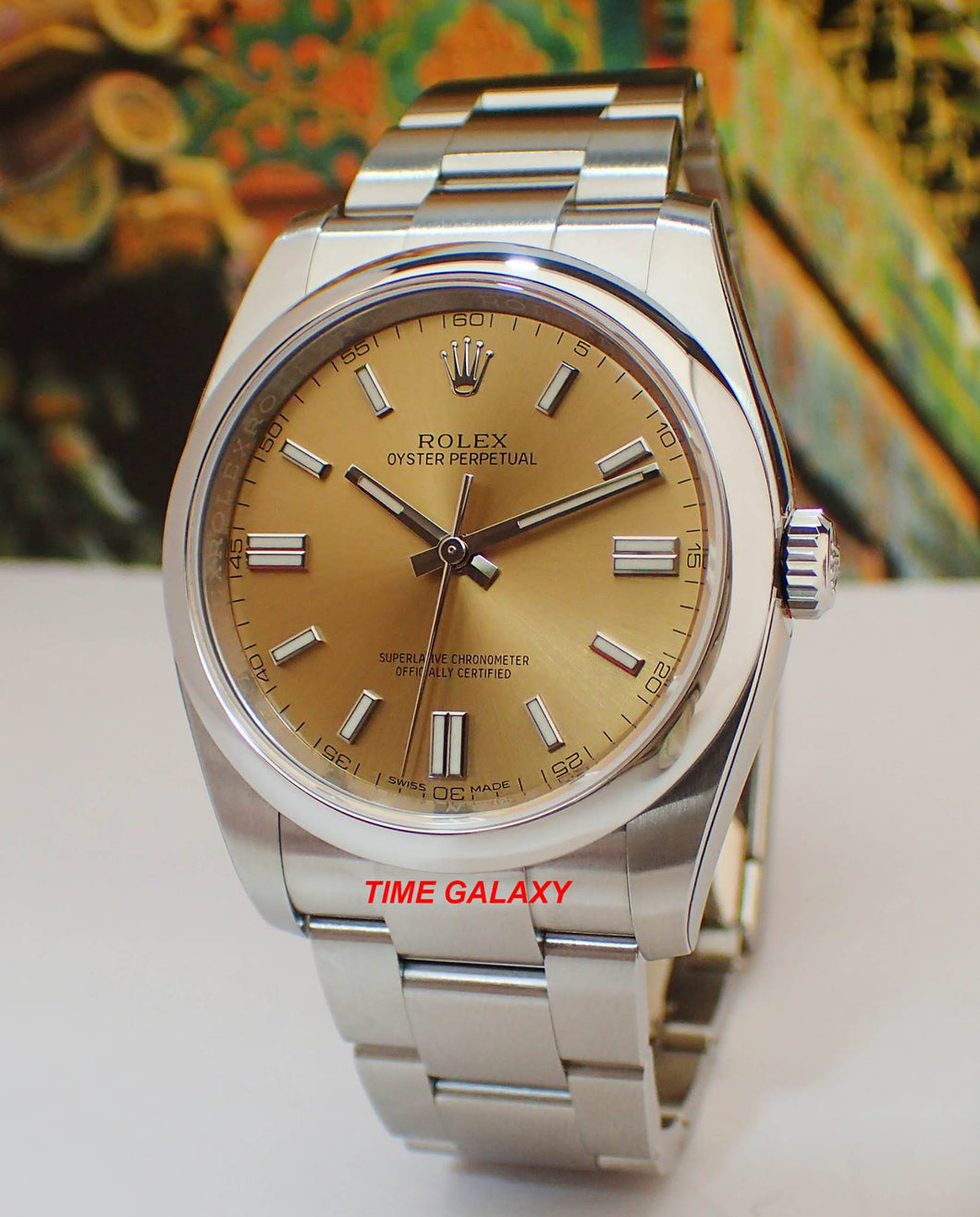 Rolex Oyster Perpetual 36 White Grape 116000-0011 watch