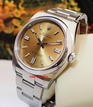 Load image into Gallery viewer, Buy Sell Trade Rolex Oyster Perpetual 36 White Grape 116000 at Time Galaxy Watch