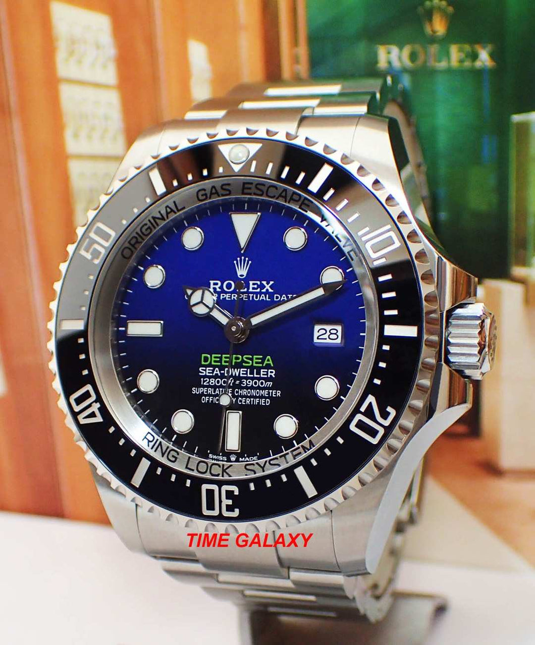 Rolex Sea-Dweller Deepsea D-Blue 126660-0002