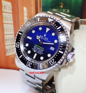 Buy Sell Rolex Sea-Dweller Deepsea D-Blue at Time Galaxy