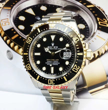Load image into Gallery viewer, Rolex Sea-dweller Rolesor Yellow Gold Black 126603-0001