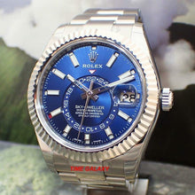 Load image into Gallery viewer, Rolex Sky-Dweller Oystersteel White Gold Blue 326934-0003