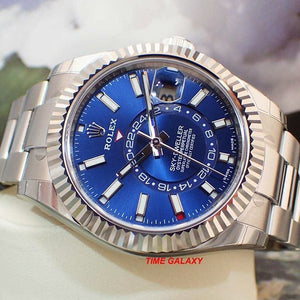 Rolex 326934-0003 made of stainless steel, white gold and sapphire glass