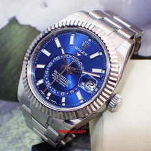 Load image into Gallery viewer, Buy Sell Rolex Sky-dweller White Gold Blue 326934 at Time Galaxy