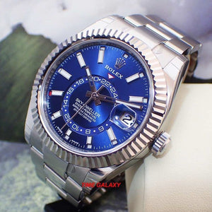 Buy Sell Rolex Sky-dweller White Gold Blue 326934 at Time Galaxy
