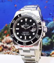 Load image into Gallery viewer, Rolex Submariner Date Oystersteel Black Cerachrom 116610LN-0001 Watch