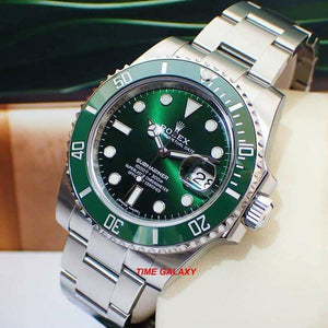 Buy Sell Trade Rolex Submariner Date 116610LV Hulk at Time Galaxy