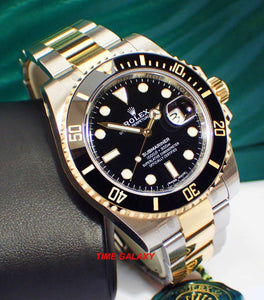 Rolex 116613LN-0001 powered by calibre 3135 self-winding mechanical