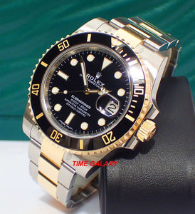 Buy Sell Rolex Submariner Date Rolesor 116613LN at Time Galaxy