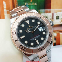 Load image into Gallery viewer, Rolex Yacht-Master 40 Rolesor Everose Oystersteel Black 116621-0002
