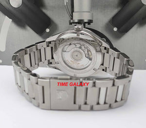 Tag Heuer Carrera WAR5011BA7023 bracelet steel and folding clasp push button buckle