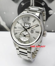 Load image into Gallery viewer, Buy Sell Trade Tag Heuer Carrera GMT Calibre 8 Silver WAR5011 at Time Galaxy Watch