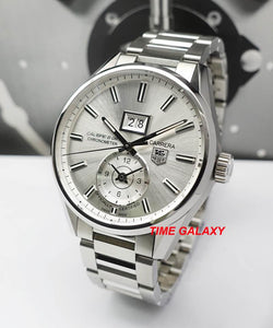 Buy Sell Trade Tag Heuer Carrera GMT Calibre 8 Silver WAR5011 at Time Galaxy Watch