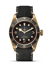Load image into Gallery viewer, Tudor Herritage Black Bay Bronze Slate Leather 79250ba-0001 wrist watch